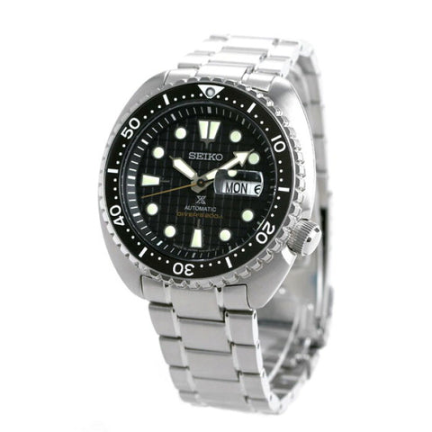 NEW 2020 SEIKO PROSPEX TURTLE SRPE03J1 MADE IN JAPAN BLACK WAFFLE DIAL