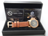 Narval Seven NZ Bronze Series Automatic Diver 500M NZ-2102 Limited Edition 100Pcs