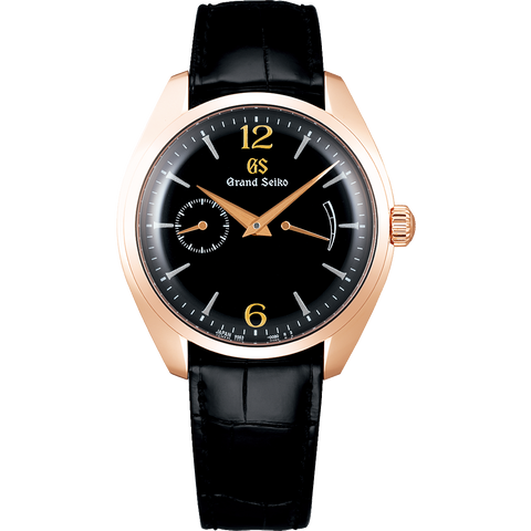 Grand Seiko 18K Rose Gold Case (Jet Black Urushi Dial) SBGK004 Limited Edition 150 Pcs