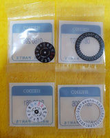 Seiko OEM JDM Kanji Day & Date Wheel (Black or White)