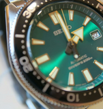 Seiko Prospex Diver Scuba SPB081/SPB081J1(SBDC059) Emerald Dial (Re-Issued 62Mas) Limited Edition 1000 Pcs