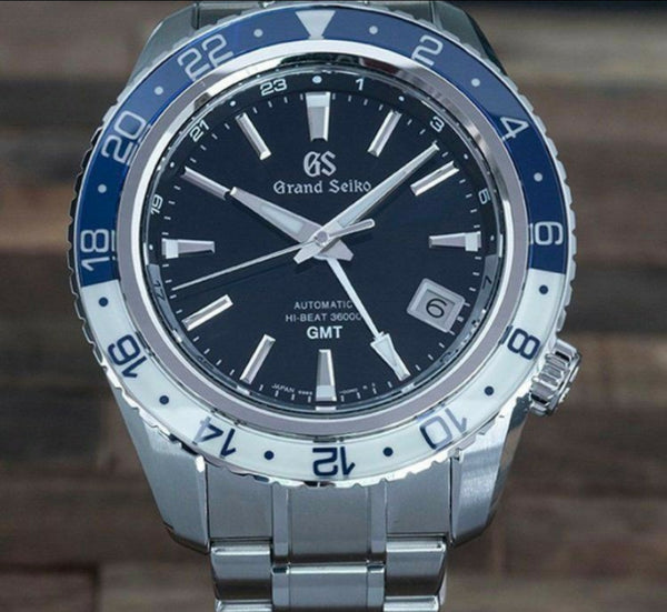 NEW GRAND SEIKO SPORT COLLECTION SBGJ237 HI-BEAT 36000 GMT