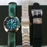"Seiko Prospex ""Green Turtle"" SRPB01/SRPB01K1 Automatic 200M Limited Edition 3500Pcs"