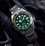 Seiko Zimbe No 12 Green & Gold MM200 SPB109J Limited Edition 1200Pcs