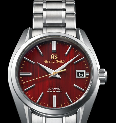"Grand Seiko Heritage Collection ""Maple Leaf Red"" Limited Edition 900Pcs"