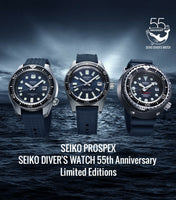55TH ANNIVERSARY SLA037J1 (SBEX009) SEIKO PROSPEX 1965 DIVE LIMITED EDITION 1100 PCS