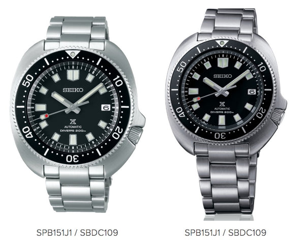 SEIKO SPB151J1 PROSPEX 6105 DIVERS' RE-CRAFT BLACK DIAL