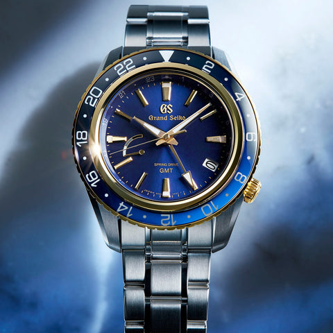Grand Seiko Spring Drive GMT SBGE248 With Yellow Gold Bezel