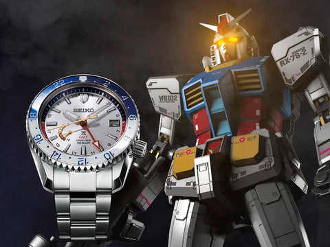 Seiko Prospex LX Line Mobile Suit Gundam 40th Anniversary SBDB033 (RX-78-2) Limited Edition 300Pcs