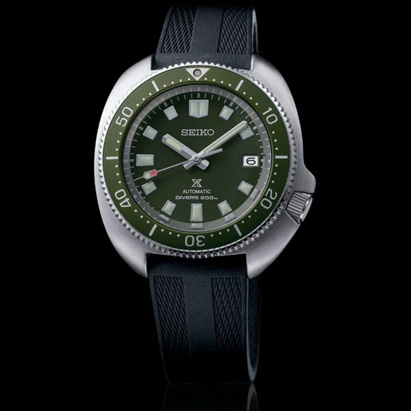 SEIKO SPB153J1 PROSPEX 6105 DIVERS' RE-CRAFT GREEN DIAL