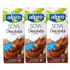 Alpro Dairy Free Milk Alternative Longlife Soya Shake, Chocolate 3x250ml at Box From UK Online Grocery Delivery Store for British Expats