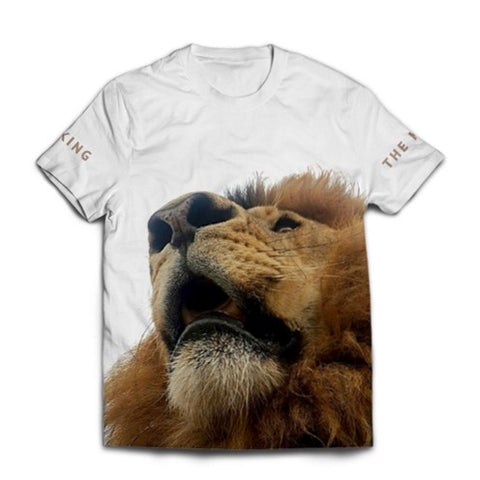 T-Shirt King Lion