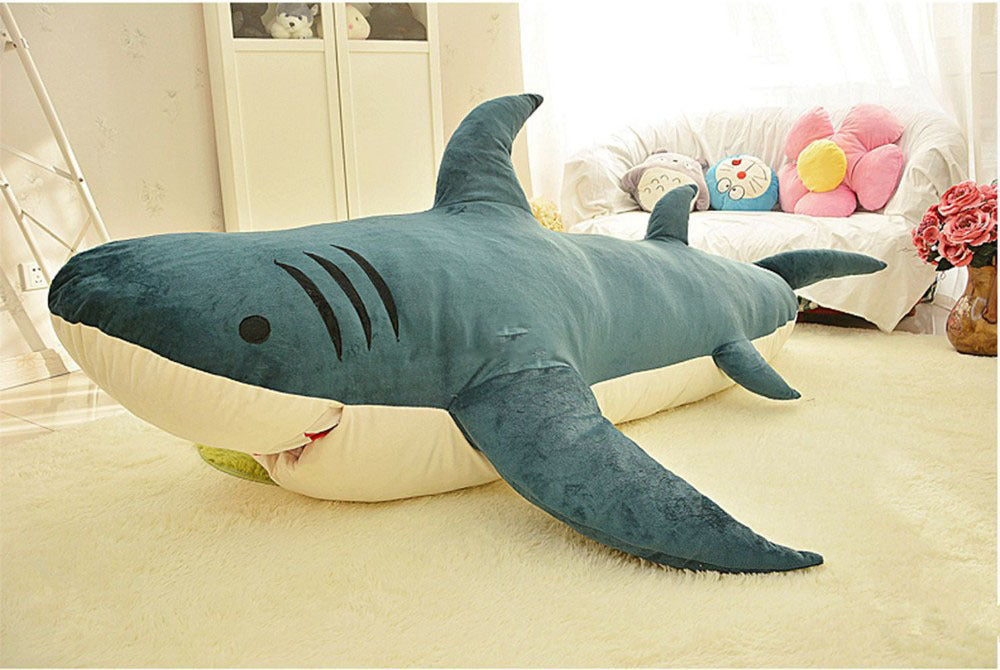 Giant Plush Soft Sharks Toy Anmlworld