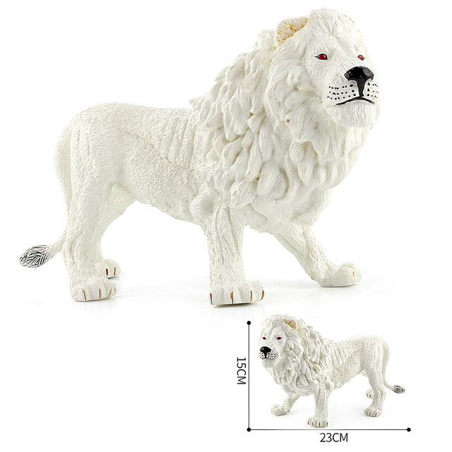 Lion Animal Model Action Figures Plastic Simulation toy Learning Educational Toys for Children Gift #E