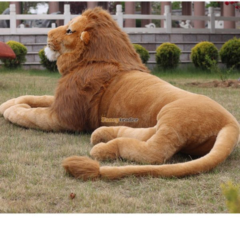 Fancytrader New 2015 87'' / 220cm Large Soft Stuffed Cute Plush Simulated The Lion King Toy, Nice Gift, Free Shipping FT50623