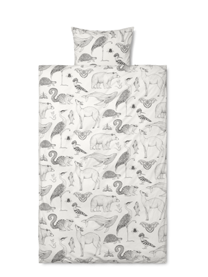 Povlečení Junior FERM LIVING Katie Scott Animals - Off White