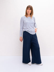 Chalk Luna Pants | Heavy Jersey