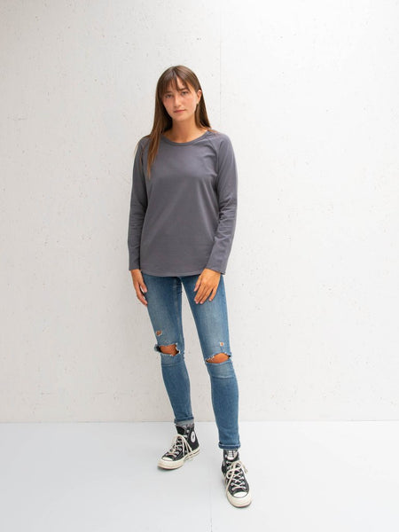 Chalk Tasha T-Shirt | Charcoal