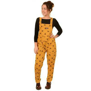 Run & Fly Bumble Bee Cotton Twill Dungarees