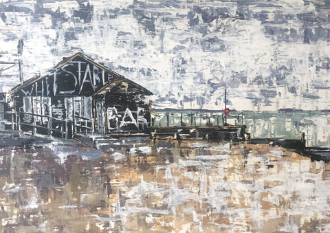 Whitstable Brewery Bar - Fine Art Print