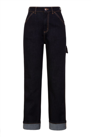 Dark Denim Carpenter Jeans