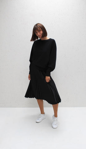 Chalk Betty Jumper | Black