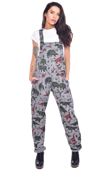 Unisex Adventure Dinosaur Dungarees by Run and Fly