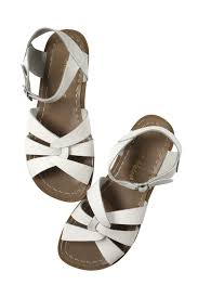Saltwater Sandals Original White