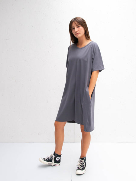 Chalk Linda Dress | Charcoal