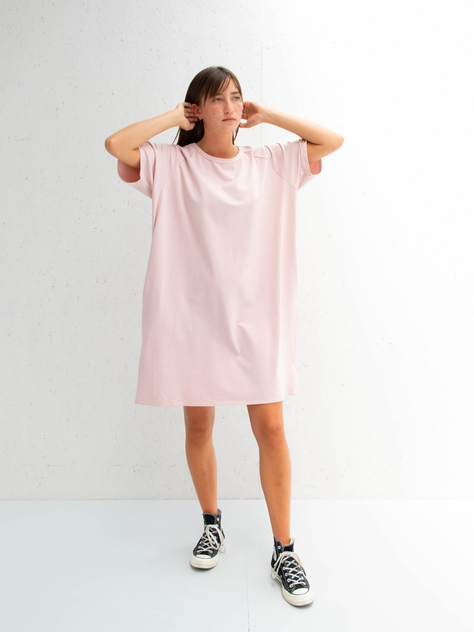 Chalk Linda Dress | Pink