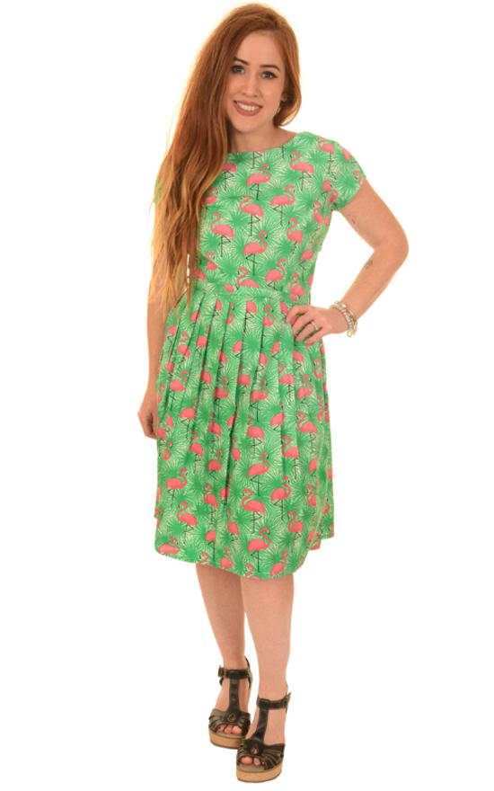 Run and fly Flamingo dress