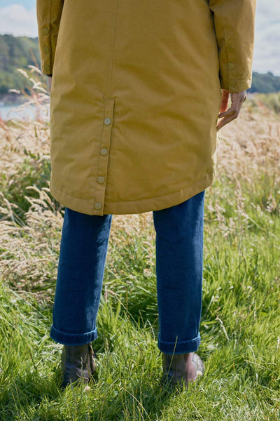 Seasalt Plant hunter coat oak