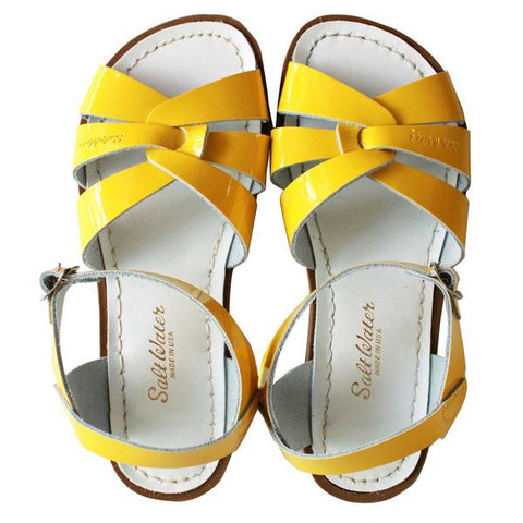 Saltwater Sandals Original Yellow