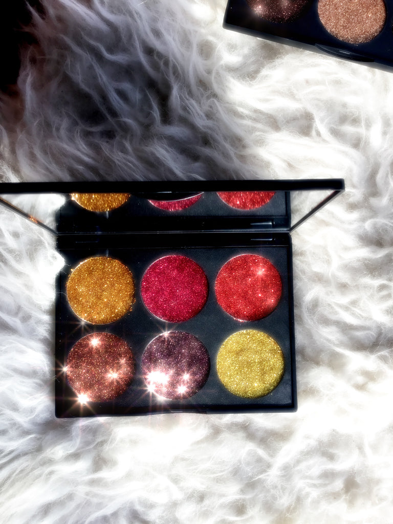 BURLESQUE2  PRESSED GLITTERS  PALETTE