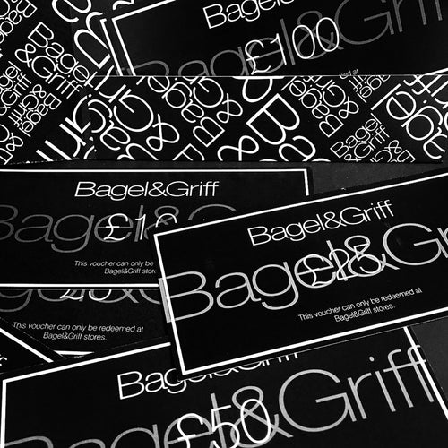 Digital Gift Vouchers - Bagel&Griff