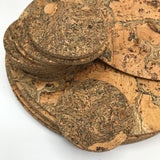Round Cork Placemat and Coaster