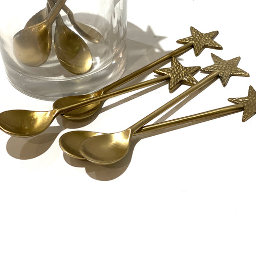 Brass Star Spoon