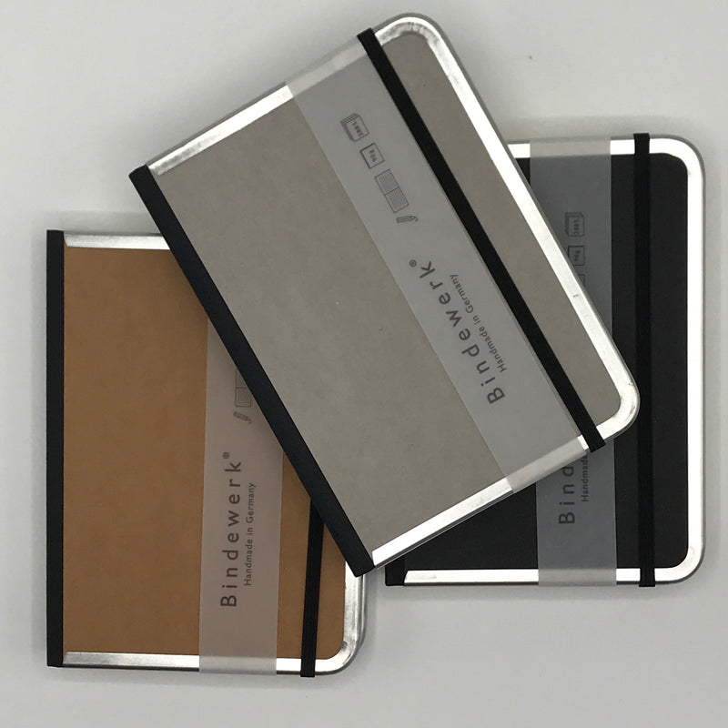 Metal Edge Notebooks - Bagel&Griff