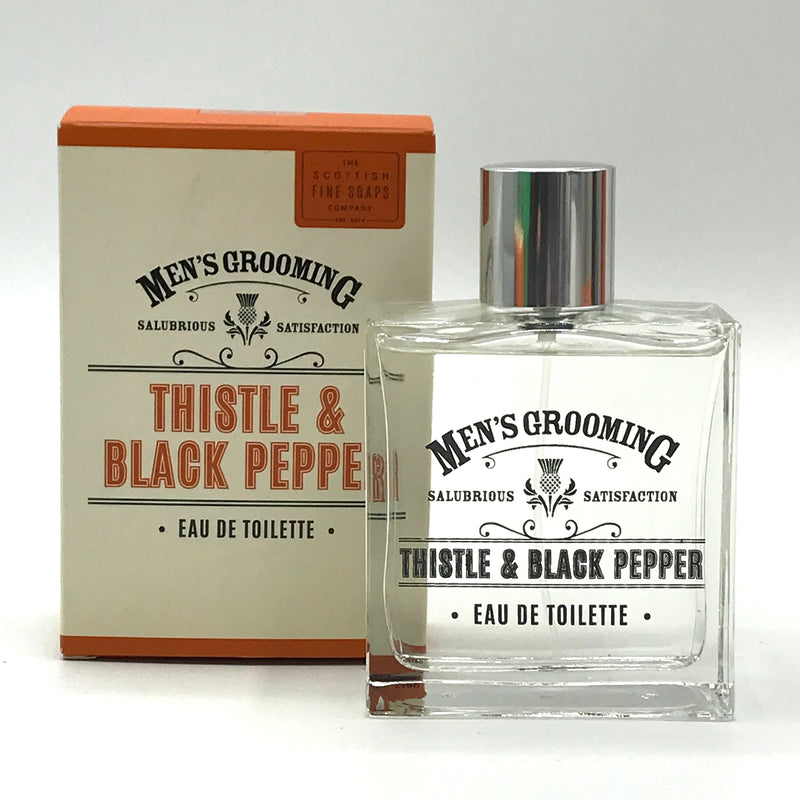 Men's Grooming Thistle & Black Pepper Eau de Toilette - Bagel&Griff