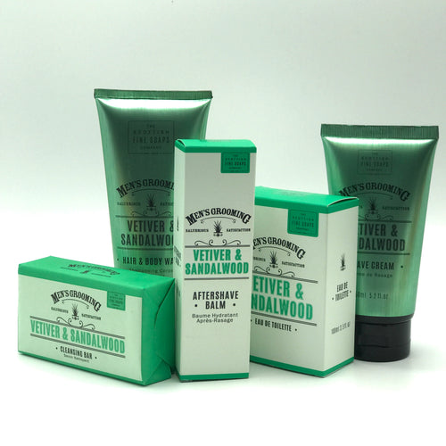 Men's Grooming Vetiver & Sandalwood Hair and Body Wash - Bagel&Griff