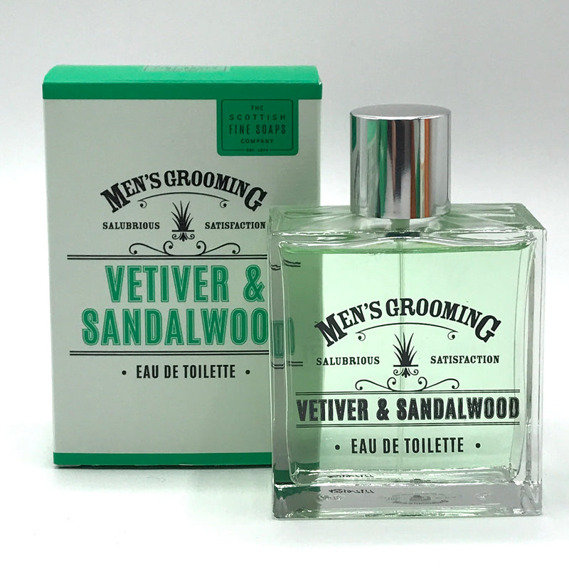 Men's Grooming Vitiver & Sandalwood Eau de Toilette - Bagel&Griff