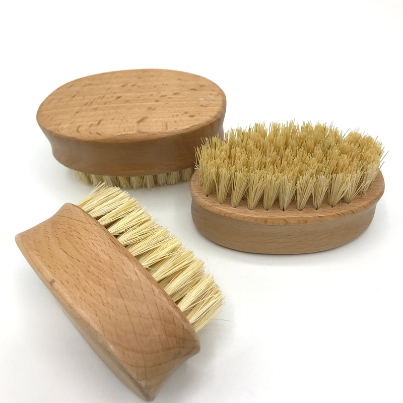 Chunky Beachwood Nail Brush - Bagel&Griff