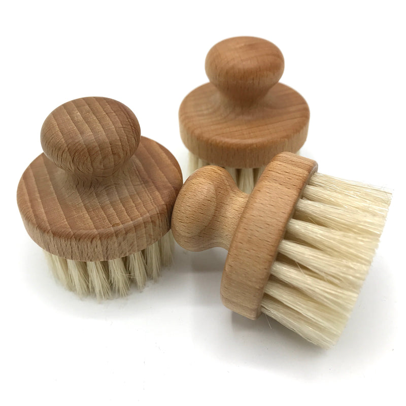 Beechwood Face Brush - Bagel&Griff