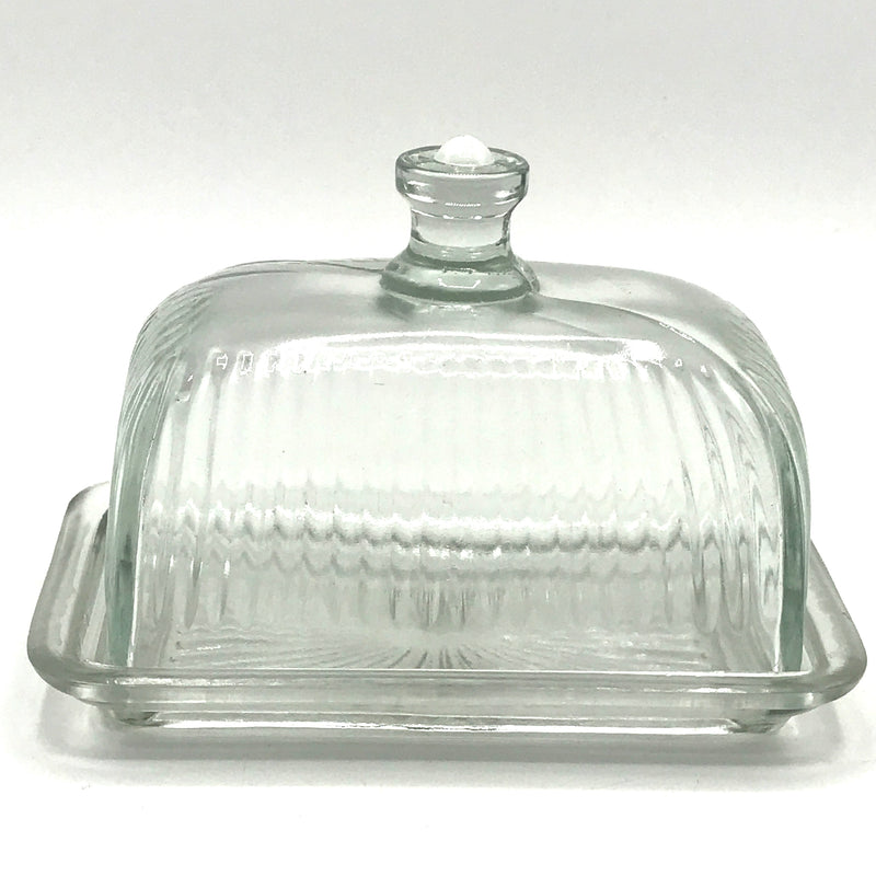 Dome Glass Butter Dish - Bagel&Griff