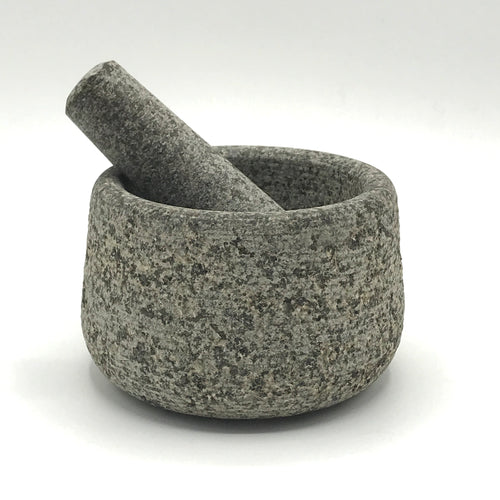 Grey Granite Pestle & Mortar - Bagel&Griff