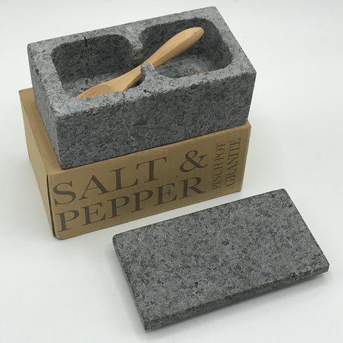 Granite Salt and Pepper Container - Bagel&Griff