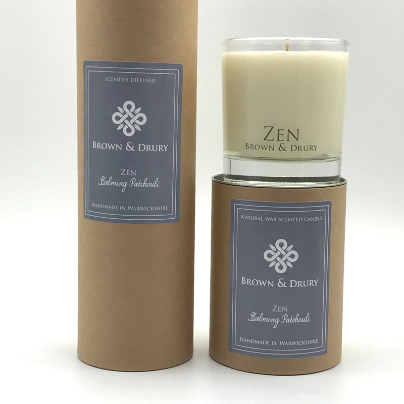 Brown & Drury Zen Candle and Diffuser - Bagel&Griff