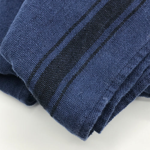 Cobalt Blue Linen Tea towel - Bagel&Griff