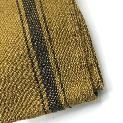 Dark Ochre Linen Tea Towel - Bagel&Griff