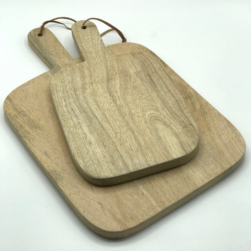 Square Mango Wood Serving Board - Bagel&Griff